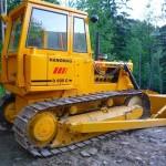 Buldozer Hanomag D600 Romania