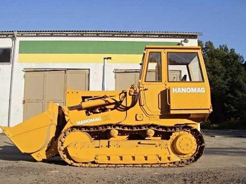 Buldozer Hanomag D600 de vanzare