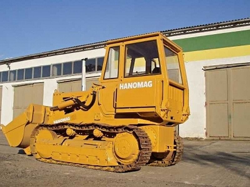 Buldozer Hanomag D600 dealer