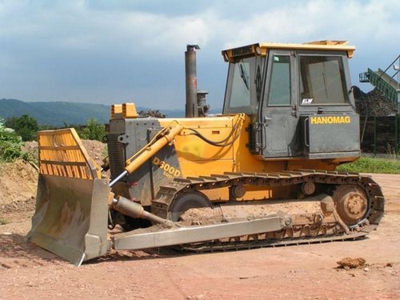 Buldozer Hanomag D600 oferta