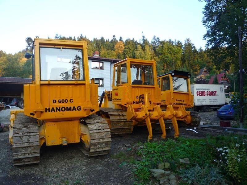 Buldozer Hanomag D600 second hand