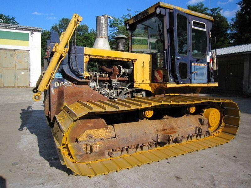 Buldozer Hanomag D680