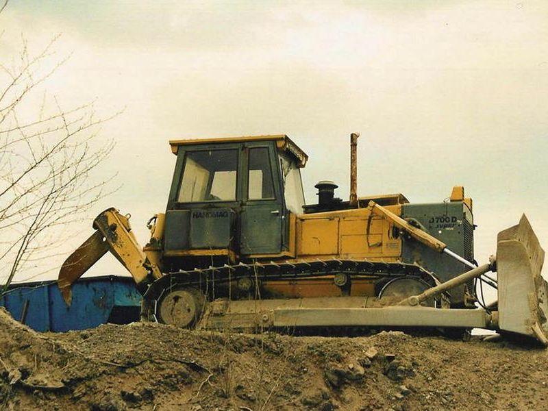 Buldozer Hanomag D700 de vanzare