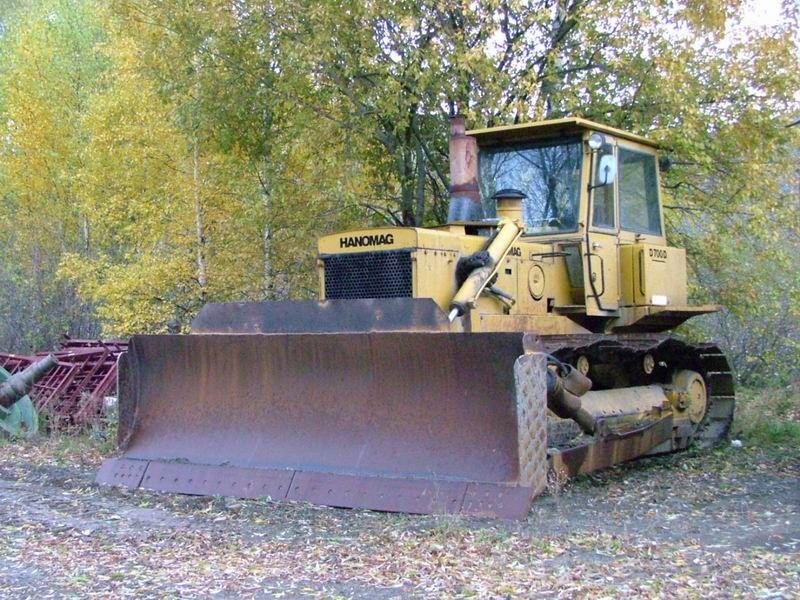Buldozer Hanomag D700 oferta
