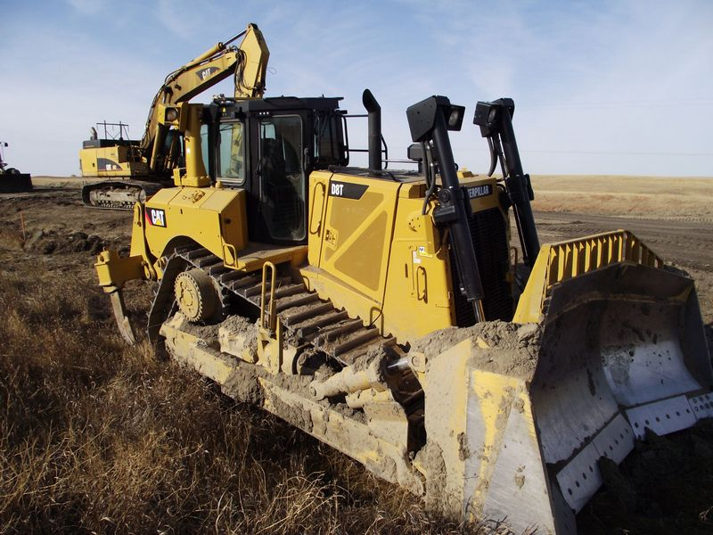 Buldozere Caterpillar D8T second hand