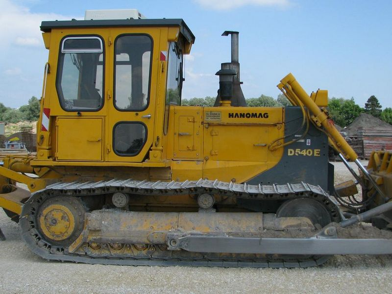 Buldozer Hanomag D540 Romania